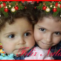 Marta e Inês Natal